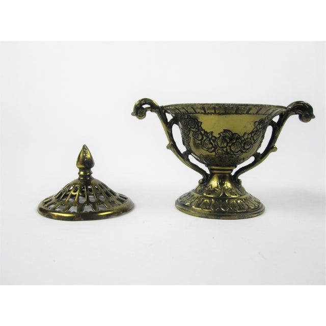 Image of Japanese Brass Incense Burner