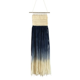 Handmade Hand Dyed Ombre Woven Wall Hanging