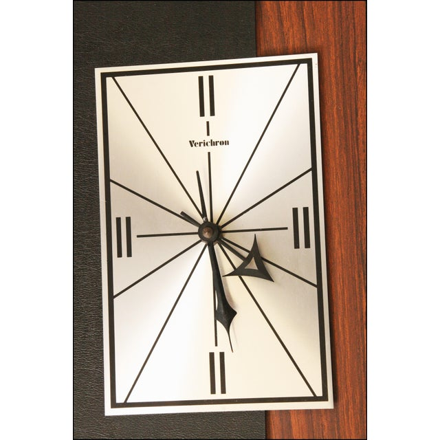 1960s Danish Modern George Nelson Style Wall Clock - Image 5 of 11