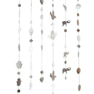 Hanging Aluminum Owl Ornaments