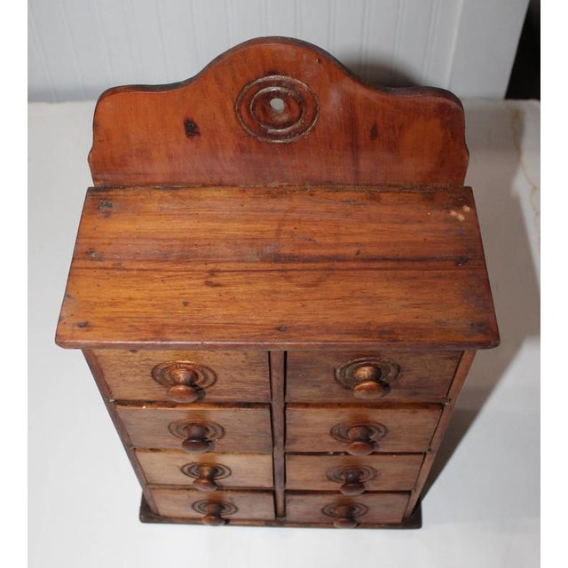 Image of 19th Century Wall Hanging Spice Cabinet