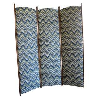 Fabric 3-Panel Dressing Screen