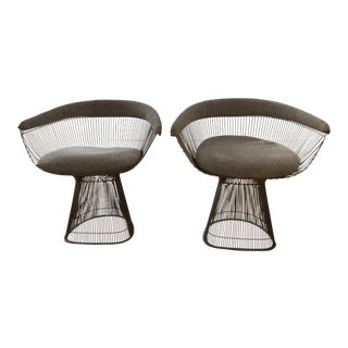 Warren Platner for Knoll Mid-Century Armchairs - A Pair