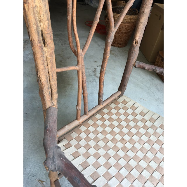how to make a twig chair