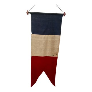 Antique French Flag Pennant