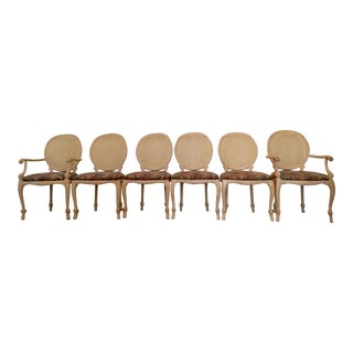 Andre Rope & Tassel Dining Chairs - S/6