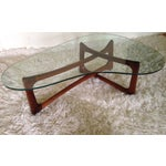Image of Adrian Pearsall Walnut Sculptural Coffee Table