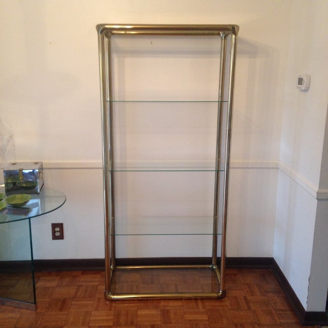Brass Etagere in the Manner of John Widdicomb - Image 2 of 9