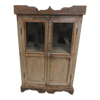 Antique Primitive Cupboard
