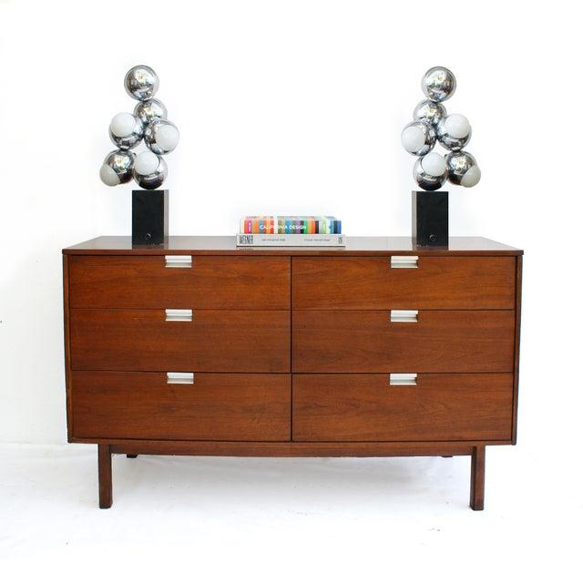 Bassett Mid-Century Modern Six Drawer Dresser