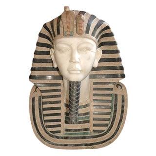 Marble Bust of Egyptian Pharaoh