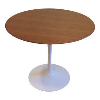 Saarinen Walnut Veneer Tulip Table