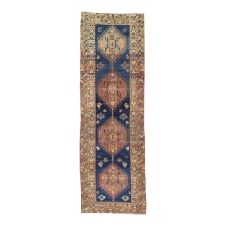 Vintage Persian Runner Rug - 3′4″ × 10′3″
