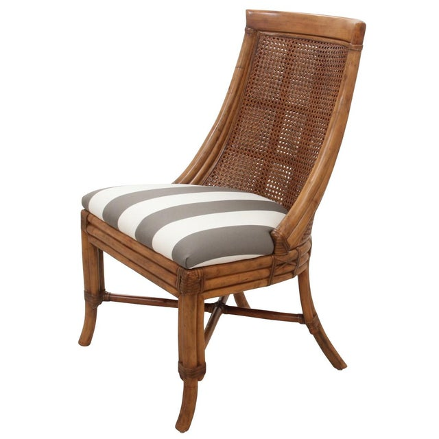 Bamboo Dining Chairs - Set of 8 - Image 3 of 9