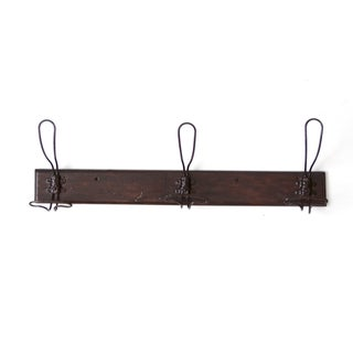 Antique Wall Rack With Coat Hooks