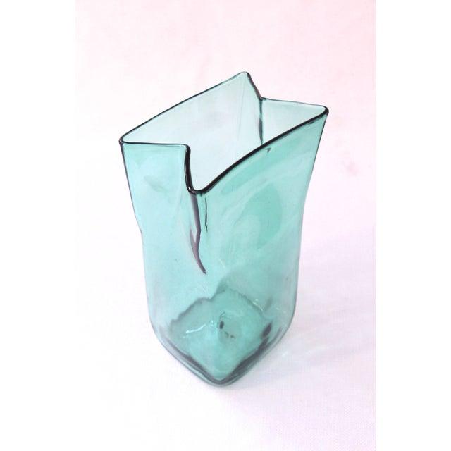 Blenko Paper Bag Vase - Image 2 of 4
