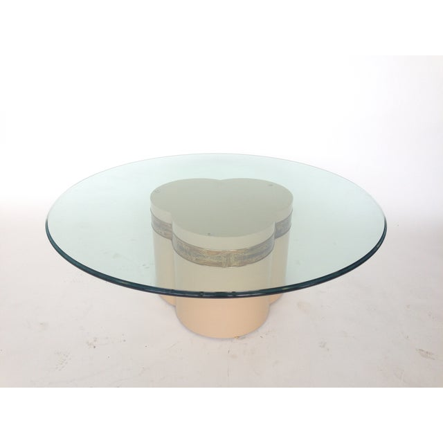 Bernhard Rohne Mastercraft Trifoliate Coffee Table - Image 2 of 6