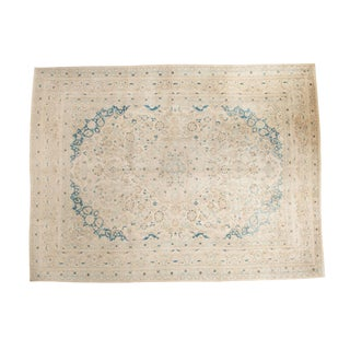 "Vintage Distressed Meshed Carpet - 9'9"" x 12'10"""