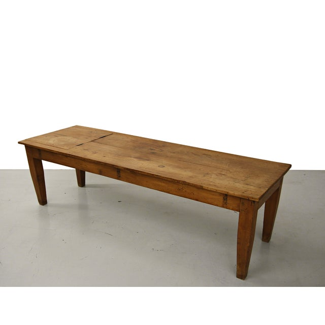 Antique Coffee Tables Ireland: Primitive Antique Industrial Farmhouse Coffee Table