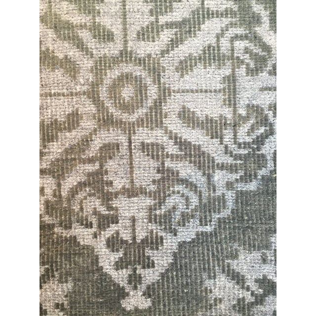 Hand Knotted Wool Rug - 2' x 3' - Image 2 of 4