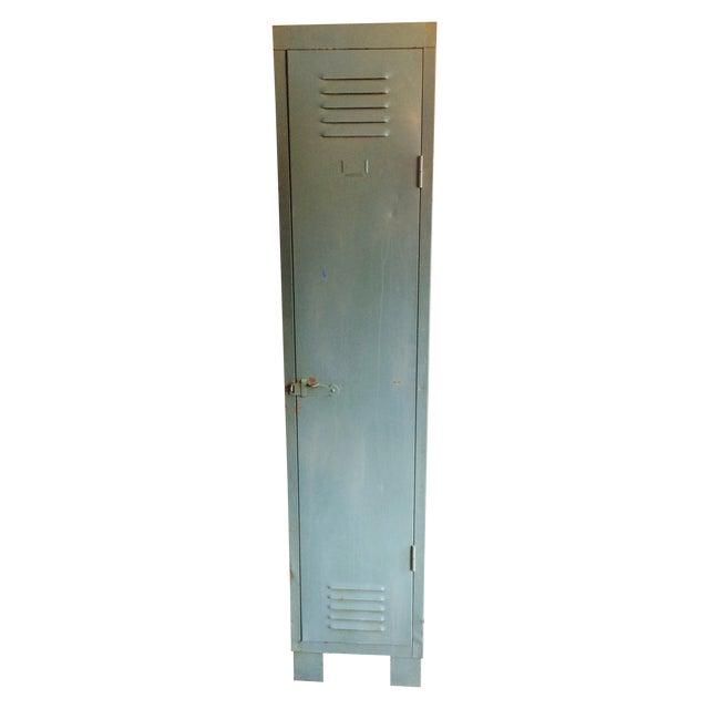 French Vintage 1 Door Locker - Image 1 of 7