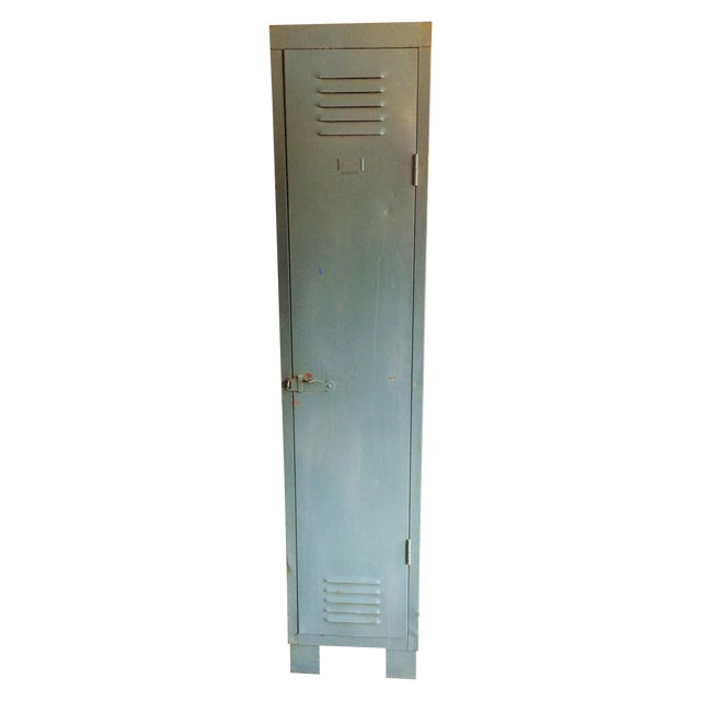 Image of French Vintage 1 Door Locker