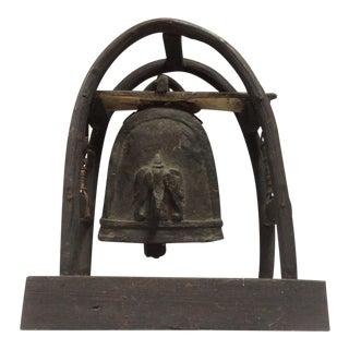 Antique Tibetan Buddhist Elephant Bell