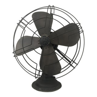 Chinese Industrial Style Fan