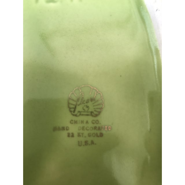 Chartreuse Green Flower Vase - Image 3 of 9