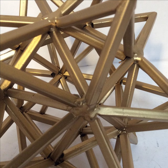 Geometric Gold Star - Image 6 of 7