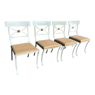 Early 20th Century Regency Style Chairs - Set of 4