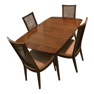 Drexel Heritage Dining Room Set With Four Chairs
