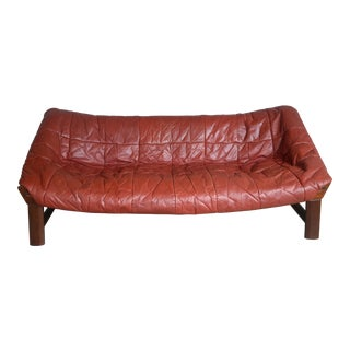 Percival Lafer Style Leather Sofa by Ekornes