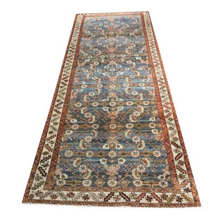 Antique Persian Malayer Runner - 3′7″ × 9′4″
