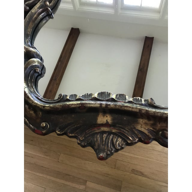 Vintage French Rococo Style Mirror - Image 8 of 10
