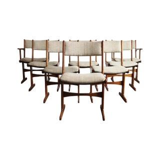 Danish Modern Teak Dining Chair, Nakashima Leg - 8