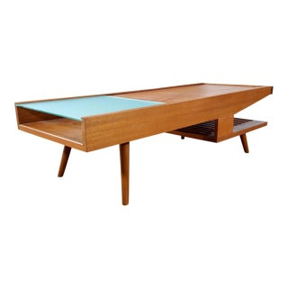 Brown Saltman Rare Coffee Table