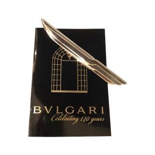 Vintage Bulgari Sterling Silver Letter Opener