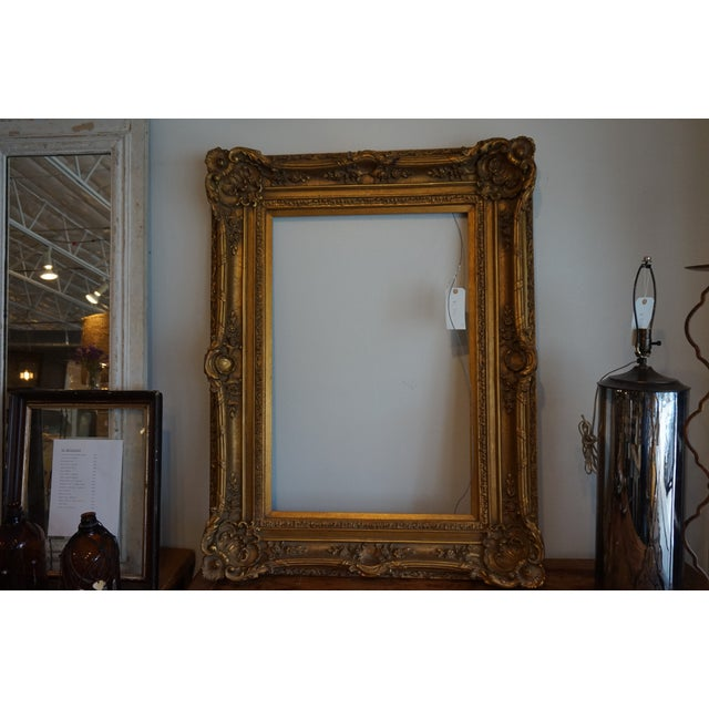Oversized Gilded Picture Frame - Image 3 of 4