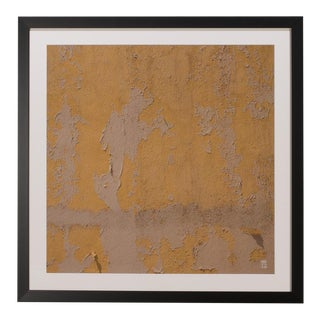 Sarreid Ltd. Yellow Peeling Paint Giclee Print