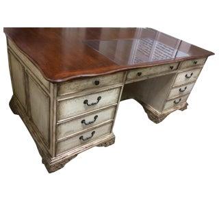 Hooker Rustic Wooden Executive Desk