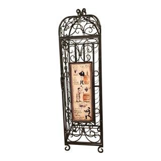 Bird Cage Style Wine Rack