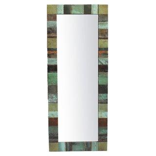 Copper Patch Mirror