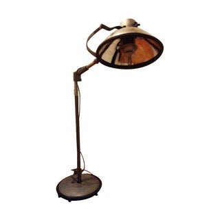 Brenner Vintage Industrial Surgical Floor Lamp