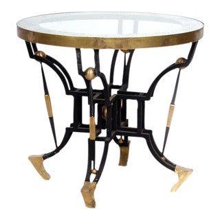 Mid-Century Modern Arturo Pani Side Round Tables