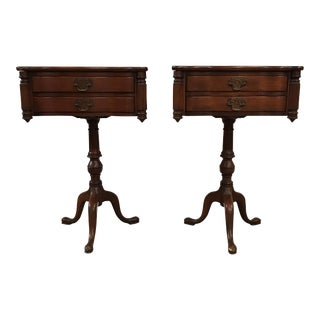 Duncan Fyfe Style Library Tables - A Pair