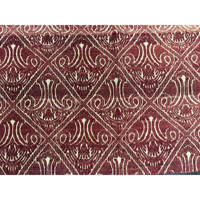 "Bellwether Rugs Turkish Flat Weave Kilim - 4'10"" X 10'5"" - Image 7 of 7"