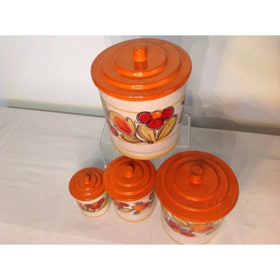Image of Mod Canister Set Majolica Made in Italy