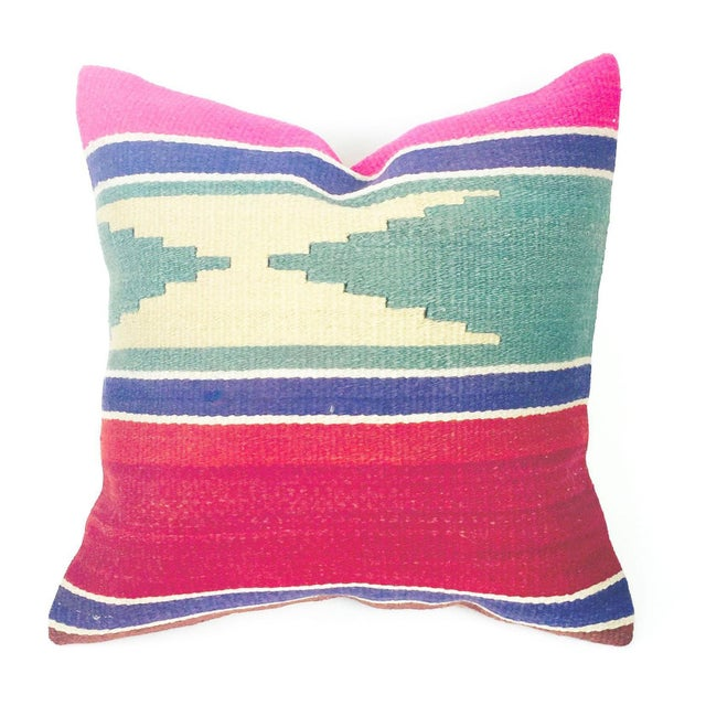Image of Vintage Square Kilim Pillowcase