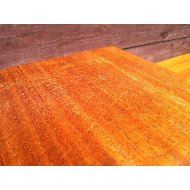 Vintage Rock-Ola Coffee Table / Game Table - Image 8 of 11